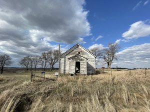 Abandoned Goff School in Iowa